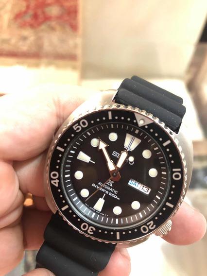 Relógio Seiko Prospex Turtle Srp777 Automático 4r36 Japan