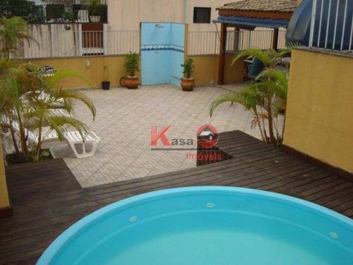 Cobertura 4 Dormitórios - Enseada, Guarujá - Co0210