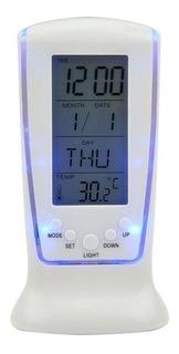 Reloj Despertador Digital Alarma Musical Luz Led !