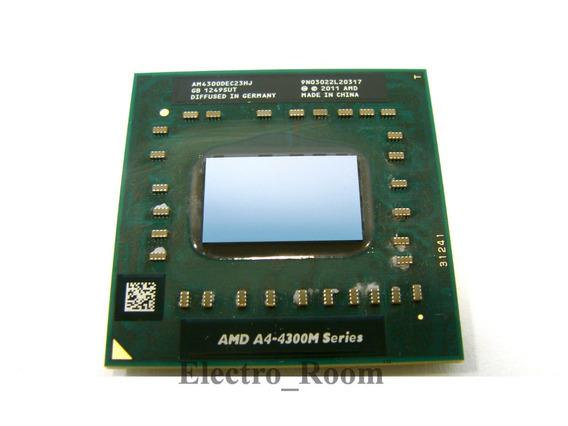 Processador Amd A4-4300m Am4300dec23hj 2.5ghz Socket Fs1