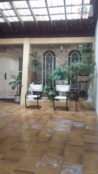 Sobrado Residencial À Venda, Parque Terra Nova, São Bernardo Do Campo. - So0090