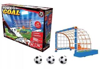 Arco De Fútbol Móvil Con Pelotas Yohe Goal Sharif Express