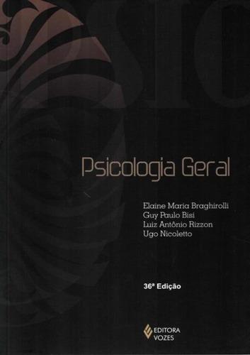 Imagem 1 de 1 de Psicologia Geral - 34ª Edicao