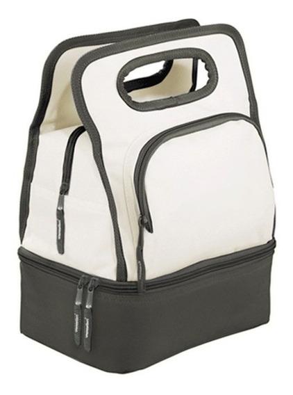 Bolso Termico Cooler Bag Lunchera Con Bolsillo Identificador