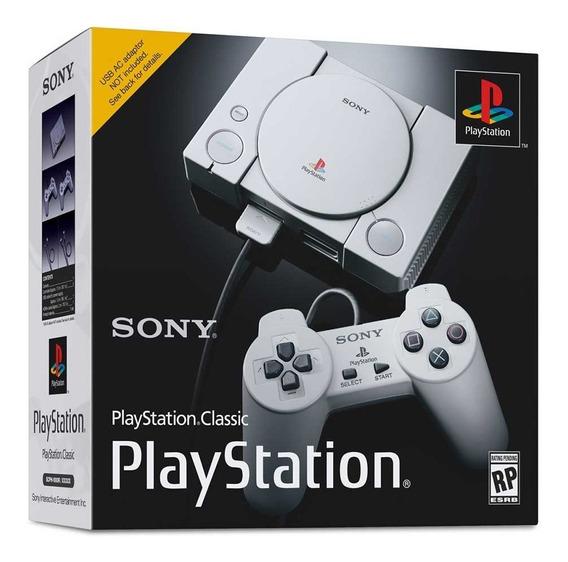 Playstation 1 One Classic Edition Mini Original Lacrado, Envio Imediato.