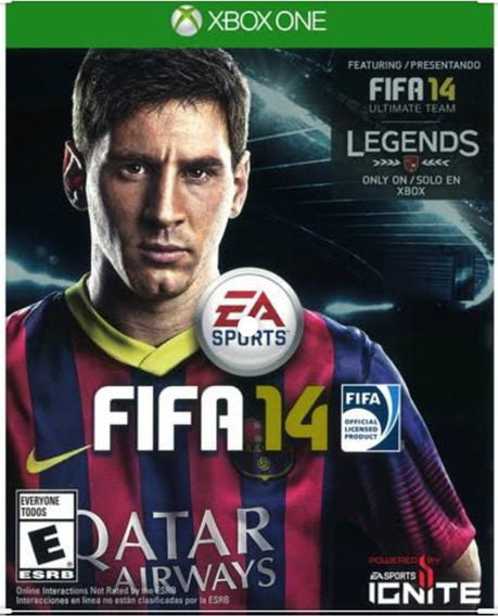 Game Fifa 14 Para Xbox One - Física