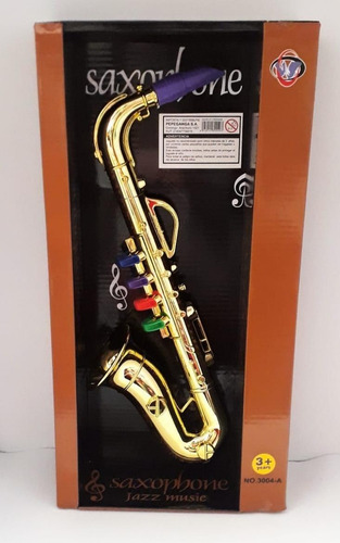Instrumento Musical Saxofon