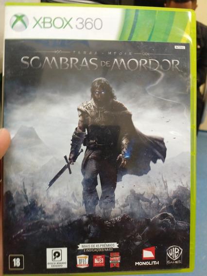 Sombras De Mordor Xbox 360