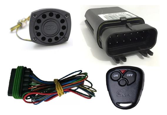 Alarme Moto Positron Universal Com 1 Controle Original Honda