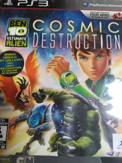 Ben 10 Ultimate Alien Cosmic Destruction Ps3 Original