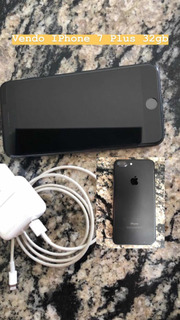 Celular iPhone 7 Plus 32gb Preto. Único Dono