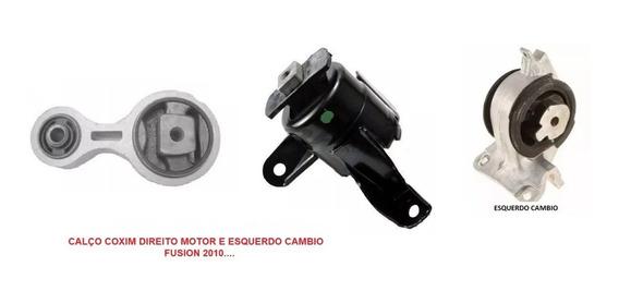Coxim Calço Motor E Cambio Ford Fusion 2010 A 2013 Motores 2.3 2.5 3.0