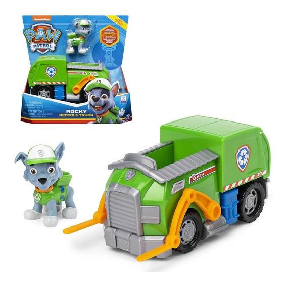 Rocky Caminhão De Reciclagem Recycle Truck Patrulha Canina
