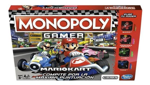 Hasbro Gaming E1870 Juego De Mesa Monopoly Gamer Mario Kart