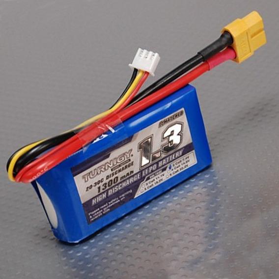 Bateria Lipo 1300 Mah 2s 20c Turnigy