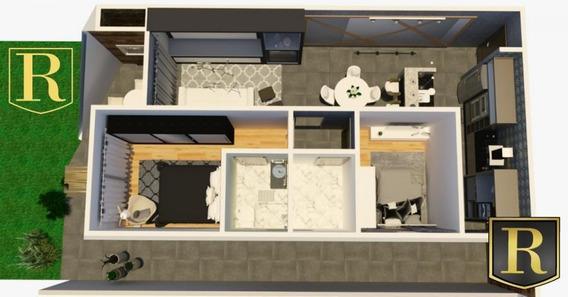 Apartamento Para Venda Em Guarapuava, Santa Cruz, 2 Dormitórios, 1 Suíte, 1 Banheiro, 2 Vagas - Ap-0038_2-988225