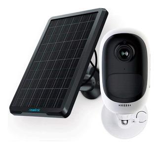 Camara Ip Solar Sensor De Movimiento Wifi Exteriores