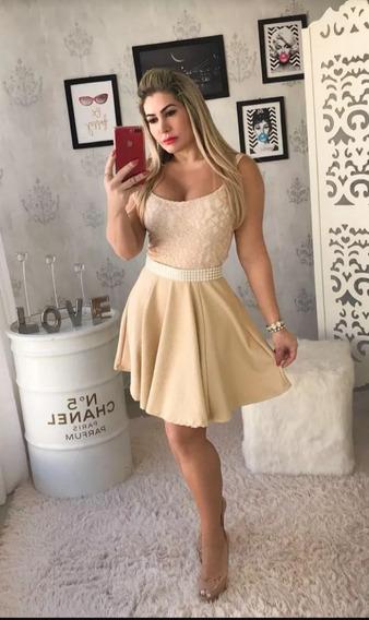 Vestido Elegante Con Encaje Damas