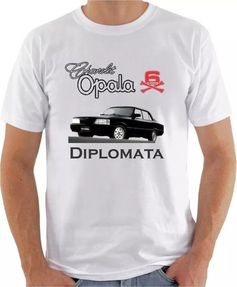 Camiseta Personalizada Opala Diplomata Carro Antigo Barato