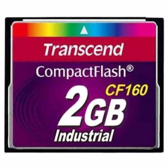 Cartão Memória Compact Flash Transcend Industrial 2gb Cf160