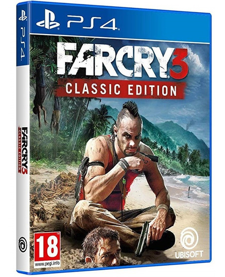 Jogo Farcry 3 Ps4 Midia Fisica Cd Original Novo Português Br