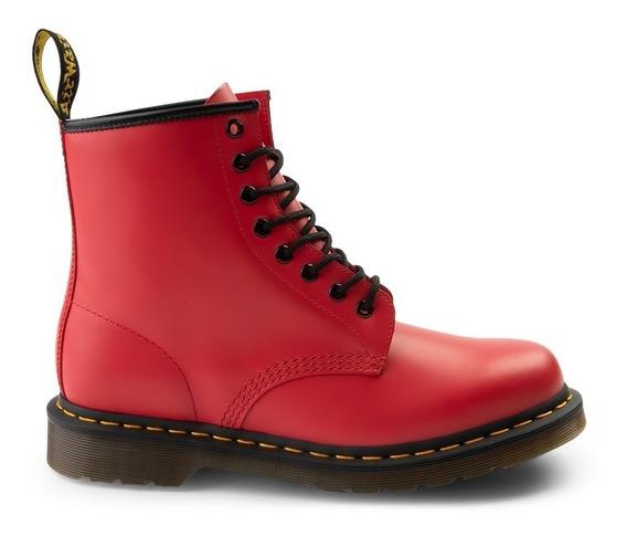 Botas Dr Martens 1460 8-eye Color Pop Boot Rojas Unisex
