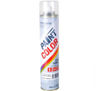 Verniz Spray Incolor Brilhante Uso Geral Pós Pintura Tpk
