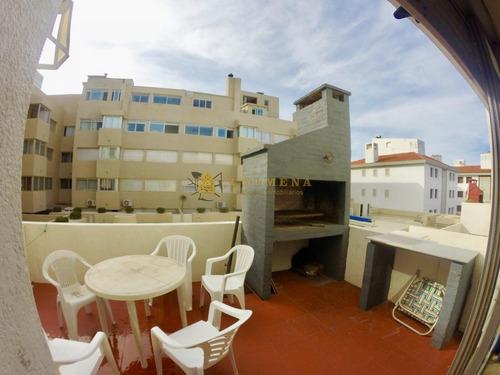 Excelente Apartamento En Península De 1 Dormitorio Con Parrillero- Ref: 4067