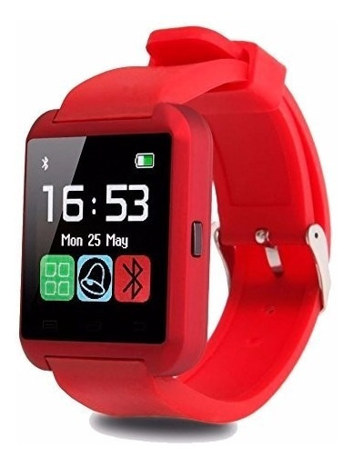 Smartwatch/u8 Color Rojo-bluetooth-reloj Inteligente And/ios