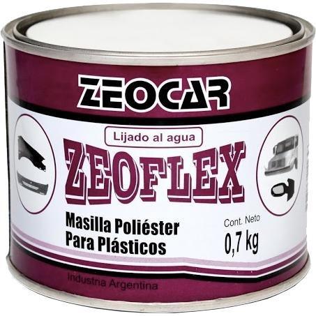 Masilla Zeoflex Para Plásticos 700 Gr