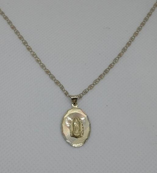 Cadena Y Medalla Para Dama Virgen De Guadalupe.