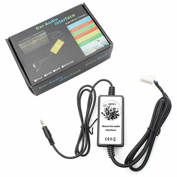 Amooca New Car Mp3 Player Radio Interface Aux-in Audio Input