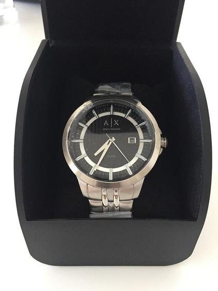 Relógio Masculino Armani Exchange Ax22603pn Prateado