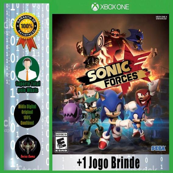 Sonic Forces Xbox One Mídia Digital + 1 Jogo Brinde