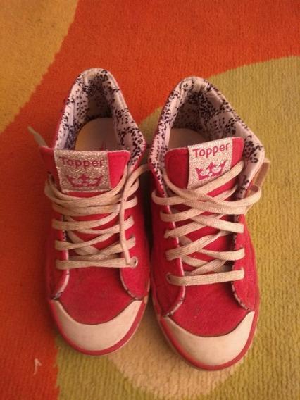 Zapatillas Original Topper De Princesa