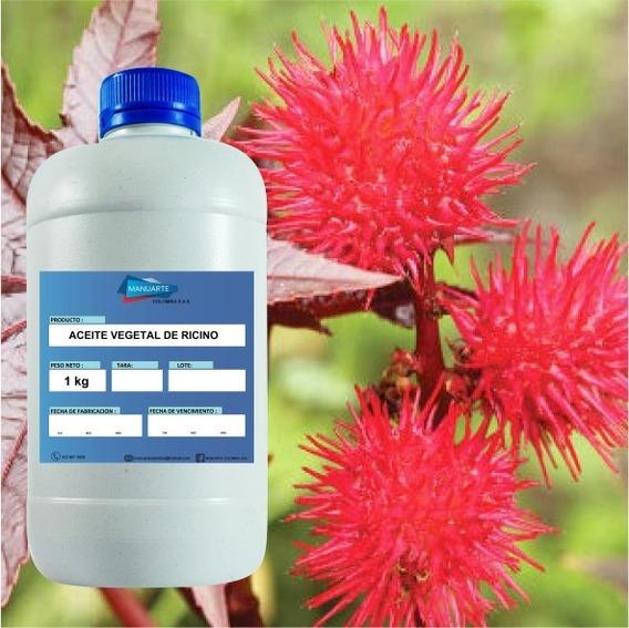 Aceite Vegetal De Ricino - 1 Kilo