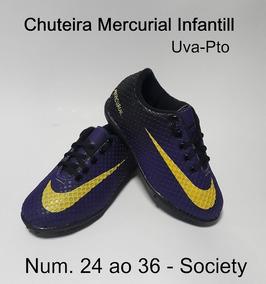 5978d7d8b5576 Chuteira Feminina Futebol Roxa - Chuteiras com Ofertas Incríveis no ...