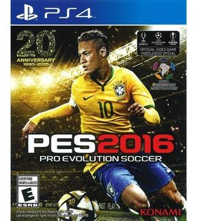 Pes 2016 Ps4 Playstation 4 Original En Caja Físico Palermo