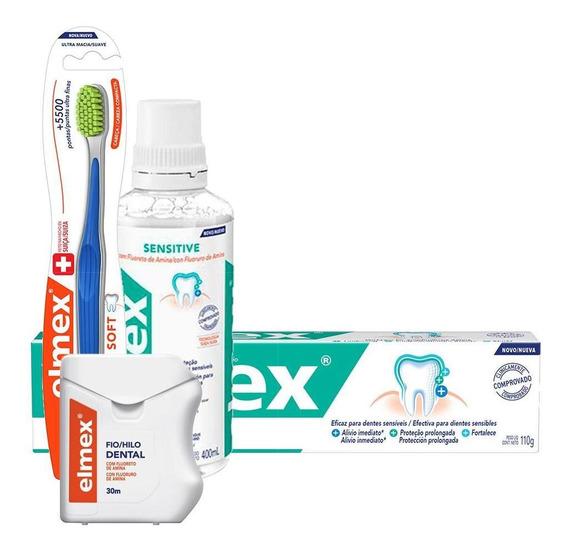 Kit Elmex Ultra Soft Família Completa