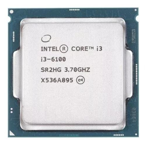 Processador Core I3-6100 6ª Geração 3.7ghz Lga 1151 Func100%