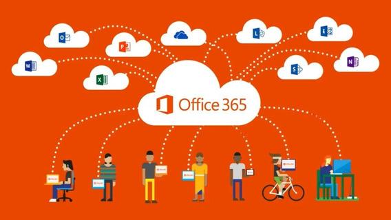 Pacote Office 365 Vitalício + Chave Original + 5 Pcs