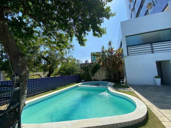 Apartamento Em Espinheiro, Recife/pe De 90m² 3 Quartos Para Locação R$ 2.800,00/mes - Ap395197