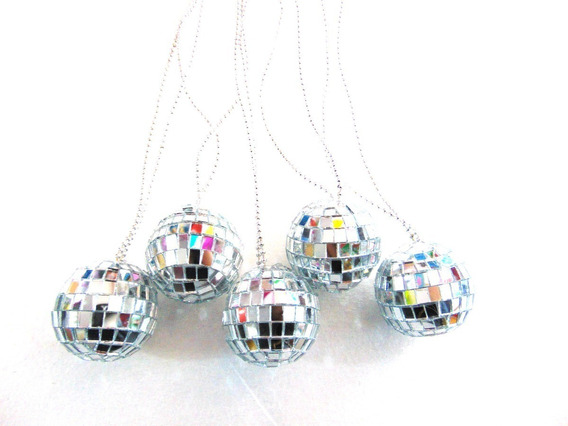Collar Disco Ball Chico Fiesta Batucada