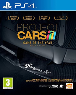 Ps4 Project Cars Game Of The Year Edition