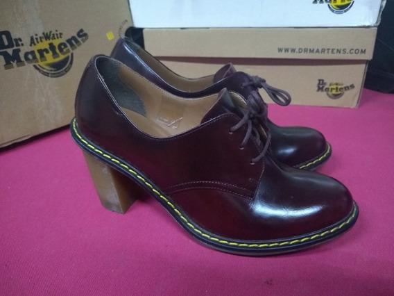 Zapatos Dr Martens Jinelle Tacón Para Dama