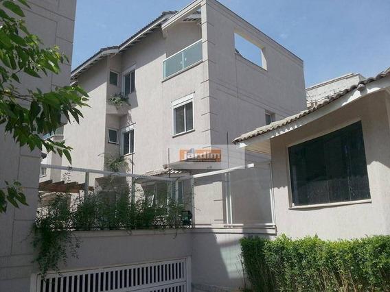 Sobrado Com 4 Dormitórios 1 Suíte - Sala 3 Ambientes - 4 Vagas De Garagem - À Venda, 170 M² - Vila Valparaíso - Santo André/sp - So0329