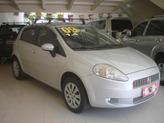 Fiat Punto 1.4 Flex 5p Prata 2009