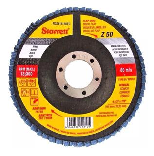 Disco Lixa Flap 115mm 4.1/2 Gr 80 P/metal Fds115-80 Starrett