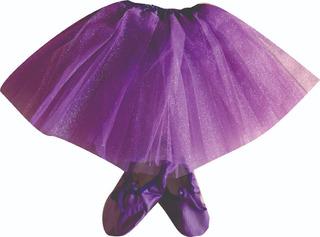 Tutu Ballet Rosa Violeta Rojo Fucsia Amarillo Naranja Celeste Verde Azul Turquesa Negro Natural Bordo Soko