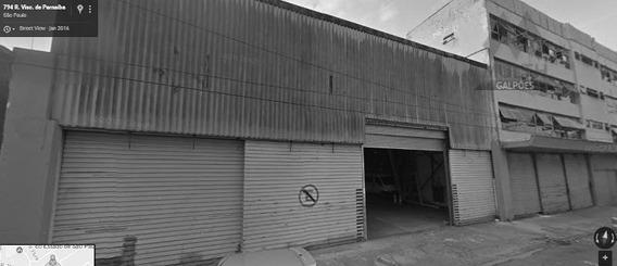 Galpão Comercial Para Locação, Brás, São Paulo. - Ga0336
